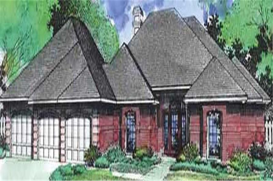 Main image for house plan # 20689