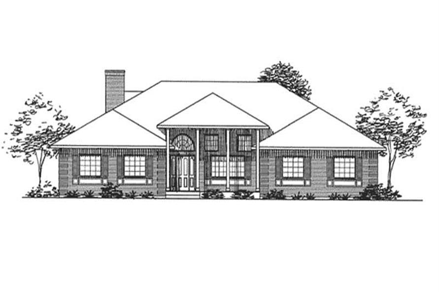 Main image for house plan # 20680