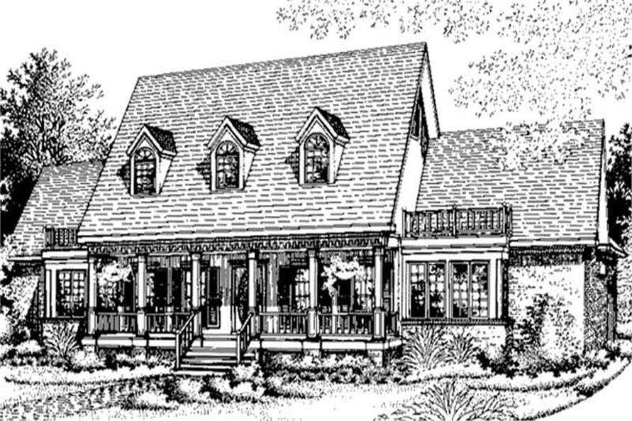Main image for house plan # 20675