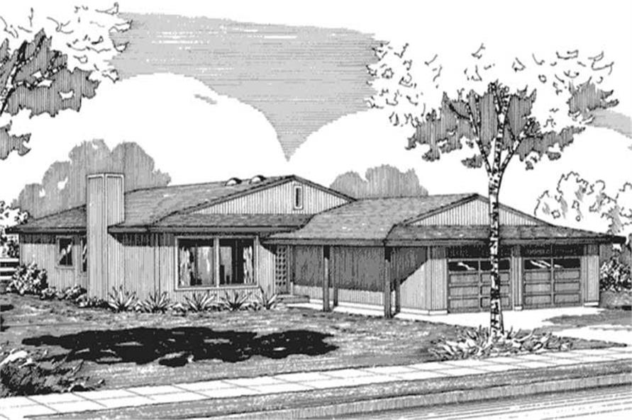 Main image for house plan # 21273