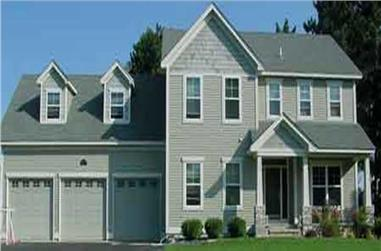 3-Bedroom, 2195 Sq Ft Country House Plan - 146-2348 - Front Exterior