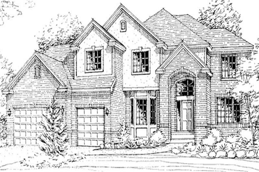 Front Elevation LS-2202-HB