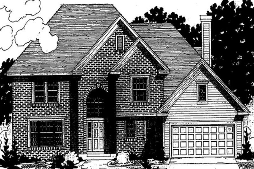 Main image for house plan # 20923