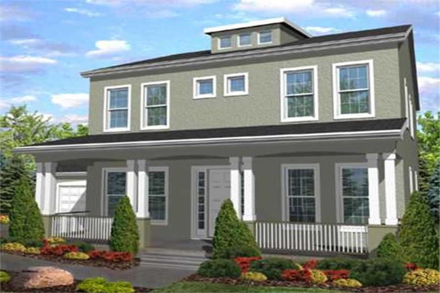Main image for house plan # 20603