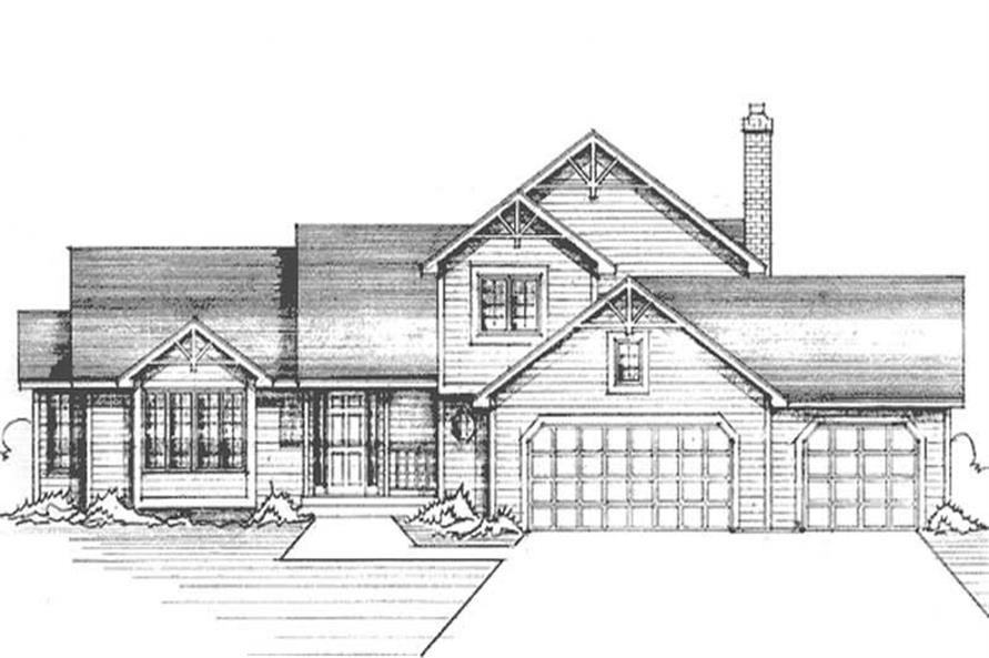 Main image for house plan # 21275