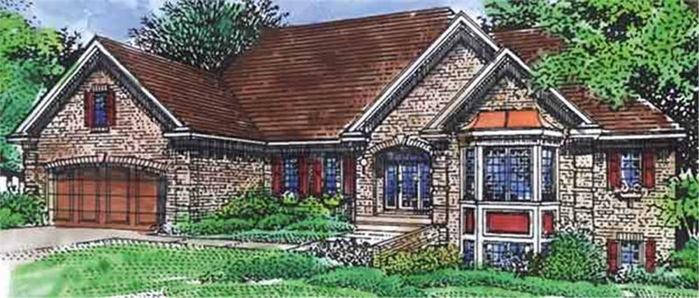 Main image for house plan # 20832
