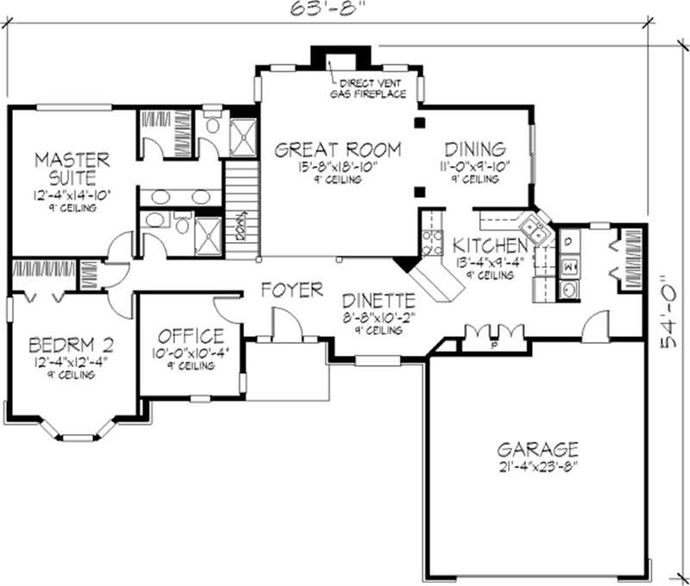 Large images for house plan 146 2359 for The house plan collection