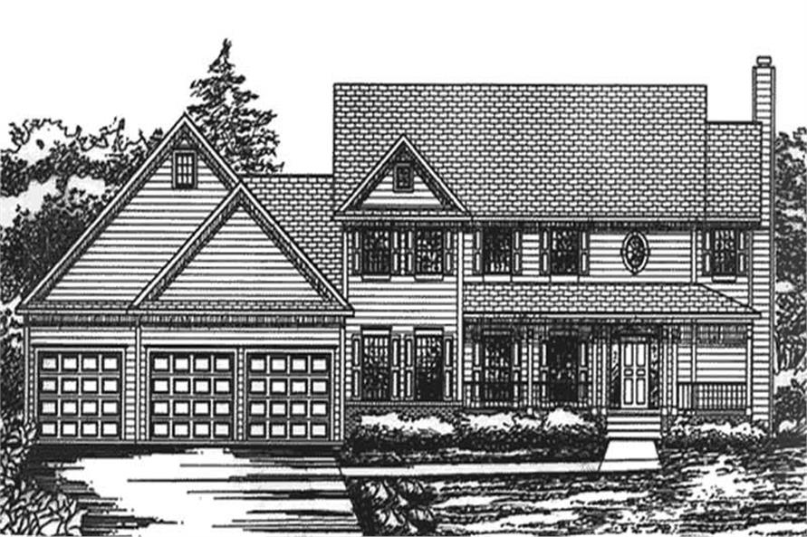 Main image for house plan # 20817