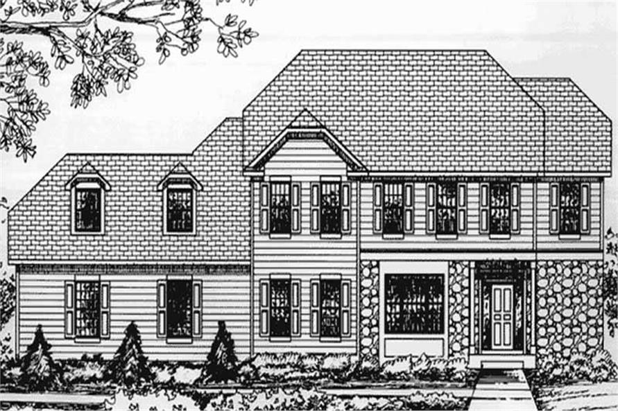 Main image for house plan # 20811
