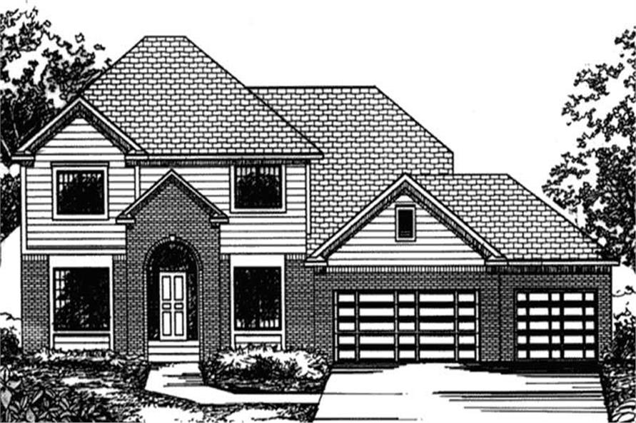 Main image for house plan #146-2369