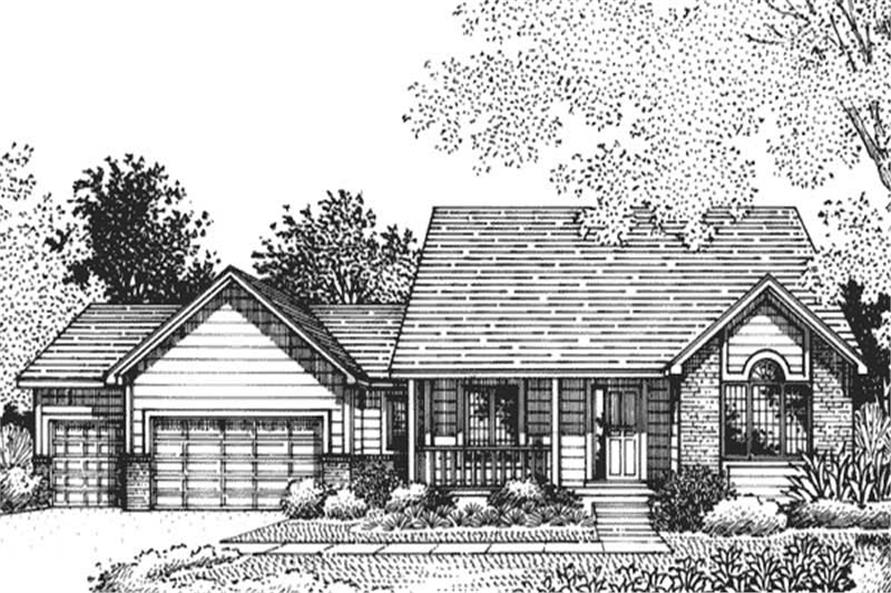 Main image for house plan # 20826