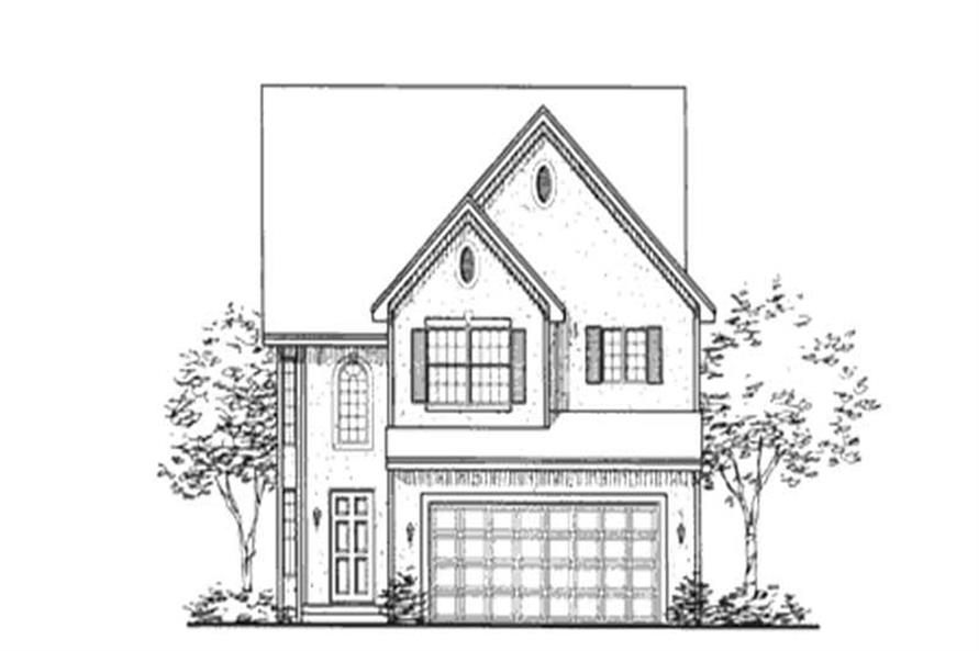 Main image for house plan # 20854