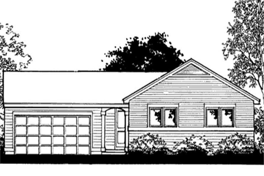 Main image for house plan # 20865