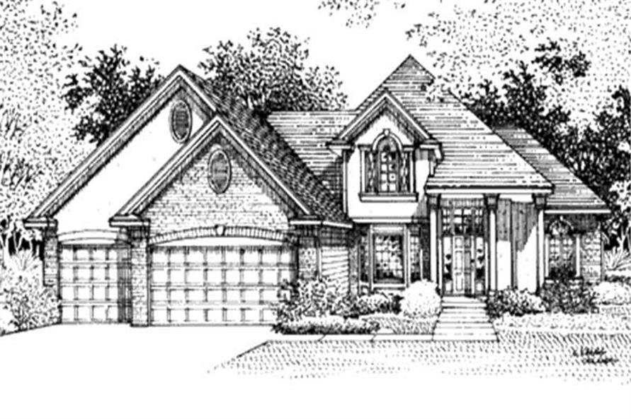 Main image for house plan # 20859
