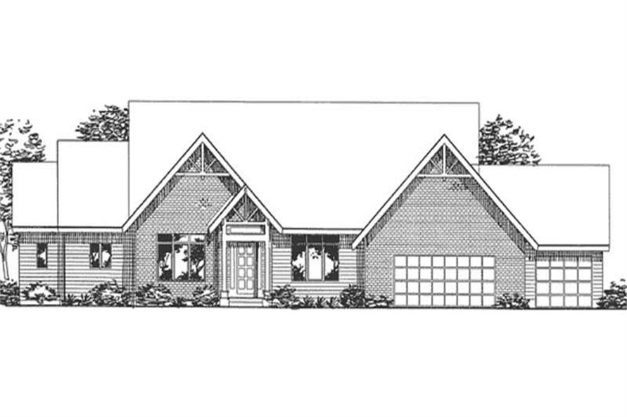Main image for house plan # 20840