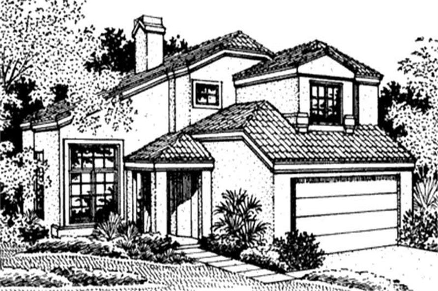 Main image for house plan # 20735
