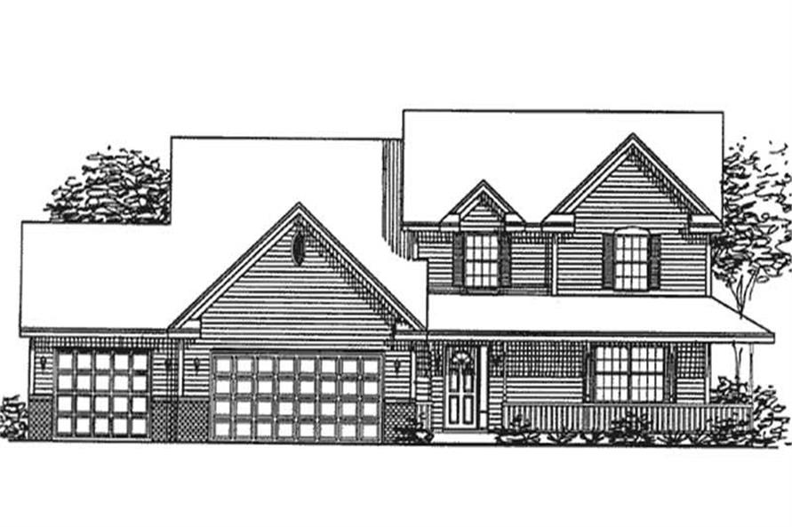 Main image for house plan # 20852