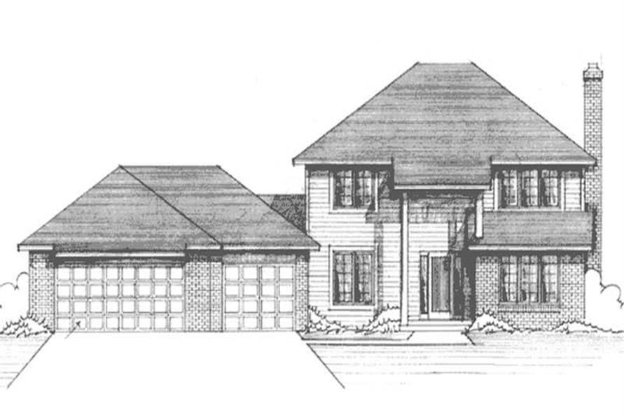 Main image for house plan # 21241
