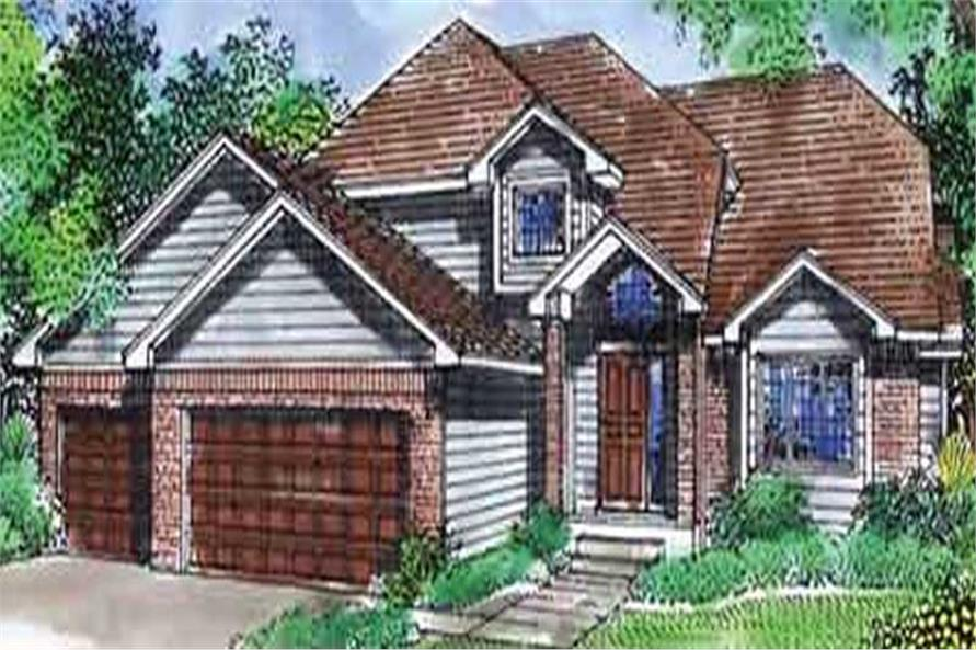 Main image for house plan # 20804