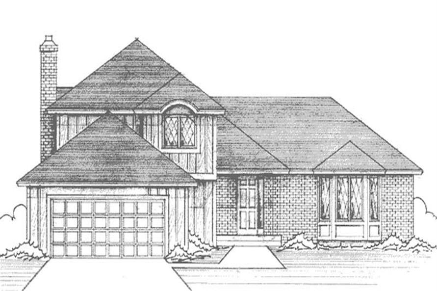 Main image for house plan # 21235