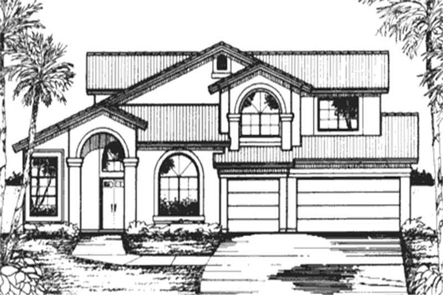 Main image for house plan # 20745