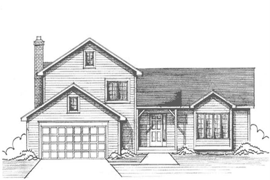 Main image for house plan # 21252