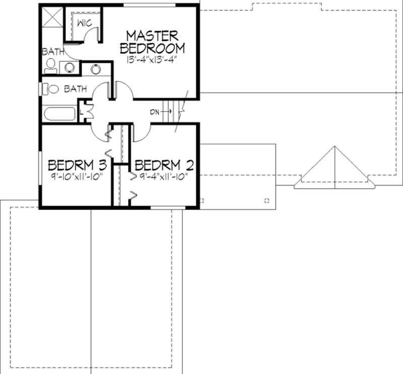 Country 1 1 2 Story House Plans Home Design Ls 97980 Re