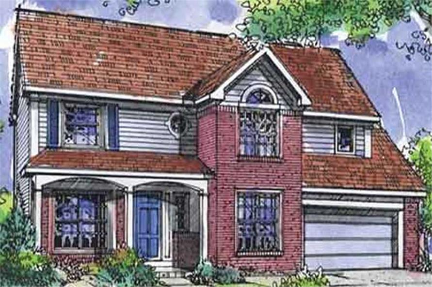 Main image for house plan # 21331