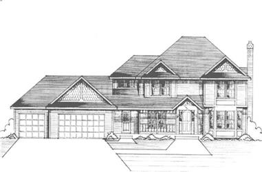 Main image for house plan # 21274