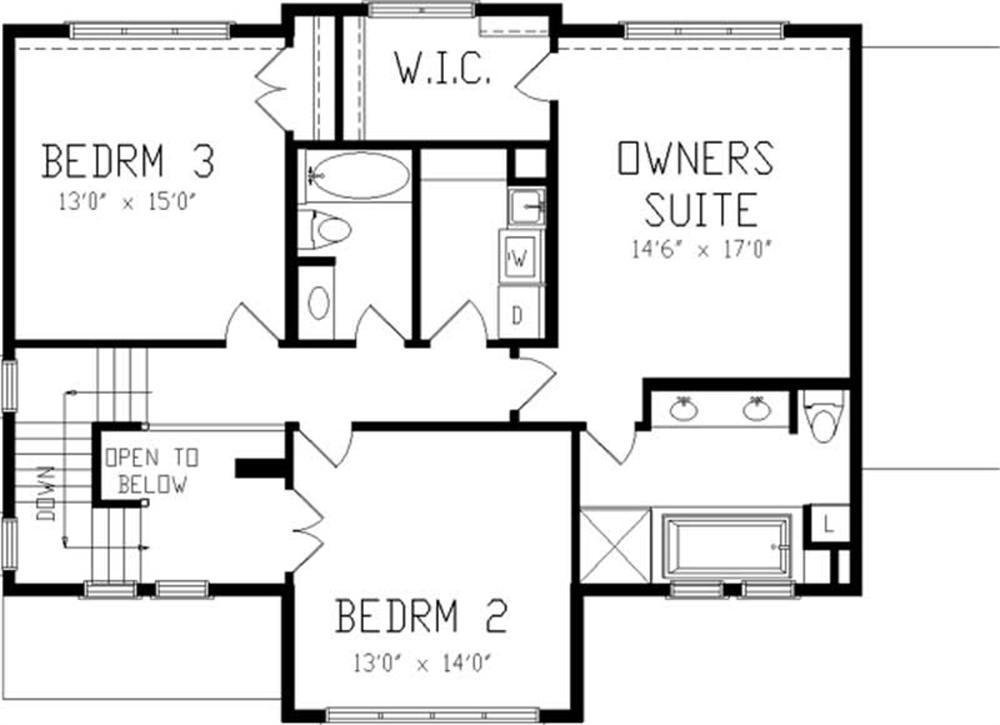 Large Images For House Plan 146 2412