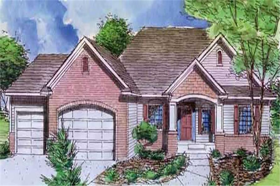 Main image for house plan # 20584