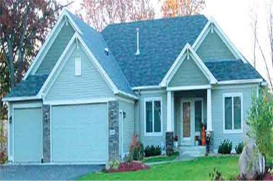 1-Bedroom, 1786 Sq Ft Country Home Plan - 146-2419 - Main Exterior
