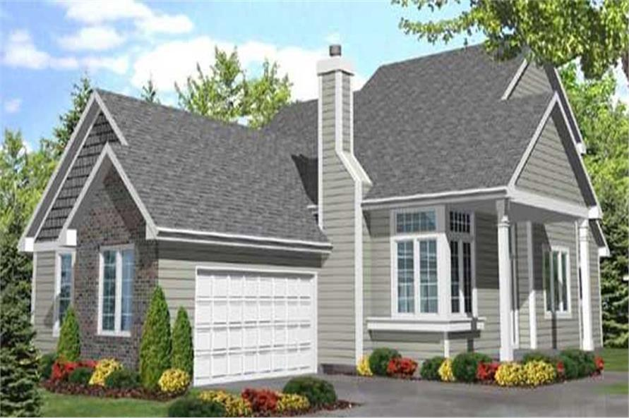 Main image for house plan # 20653