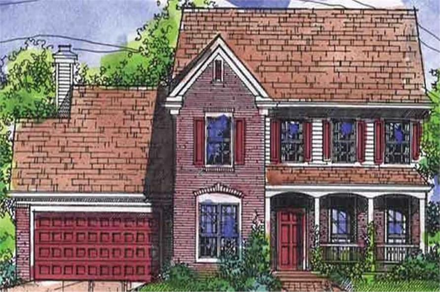 Main image for house plan # 21300