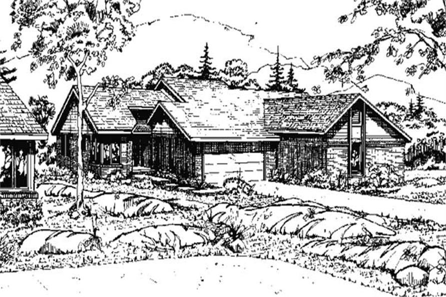 Main image for house plan # 21477