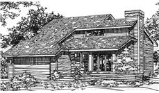 Main image for house plan # 21456