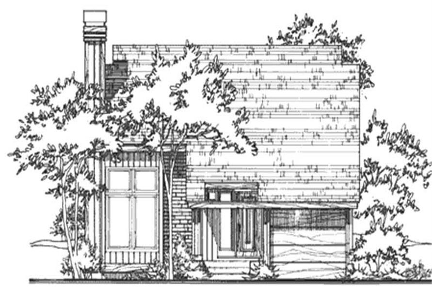 Main image for house plan # 21525