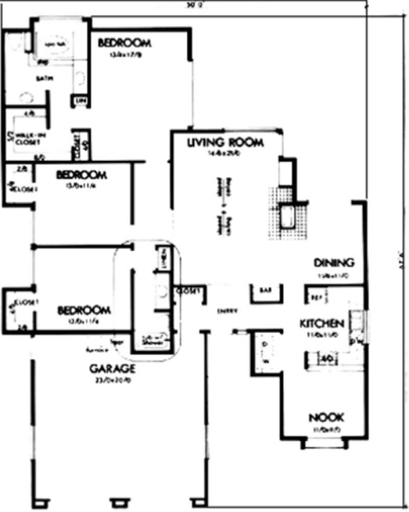 Duplex House 2 Bedroom 2 Bath further Home Plan 22895 likewise Countrys best moreover 3 000 Square Feet House Plans besides Homes Floor Plans 24 X 40. on ranch home plans deluxe