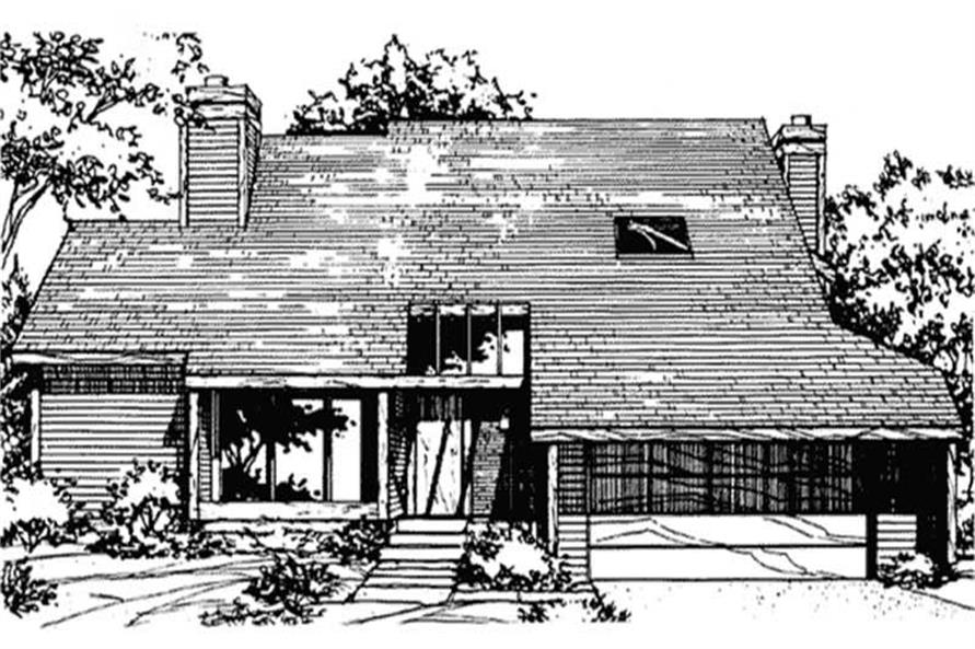 Main image for house plan # 21505