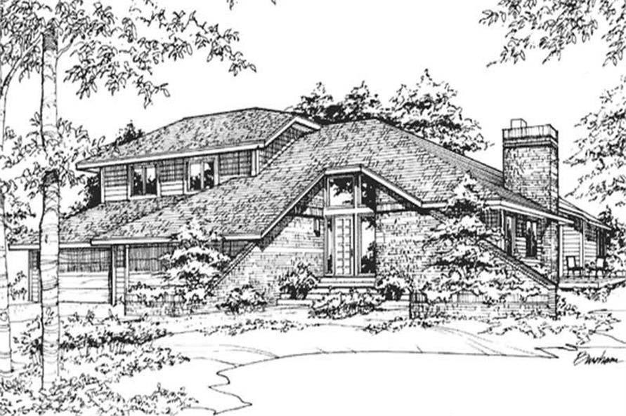 Main image for house plan # 21503