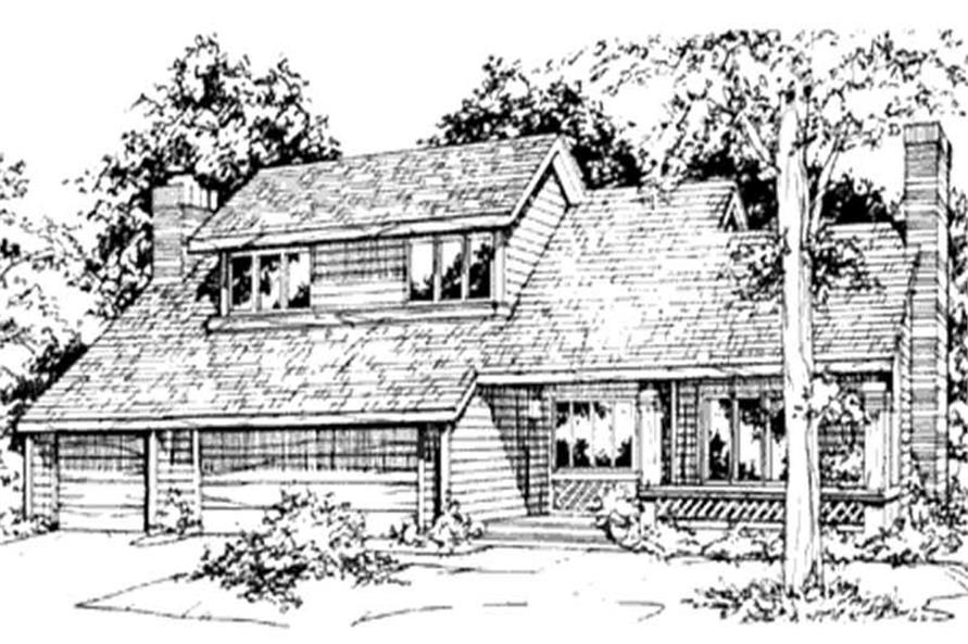 Main image for house plan # 21496