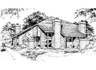 Main image for house plan # 21486
