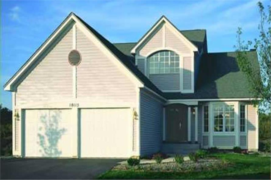 Home Exterior Photograph of this 2-Bedroom,2272 Sq Ft Plan -146-2513