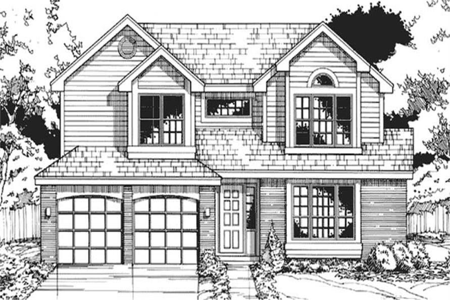Country House Plans LS-B-90063 Main Image.