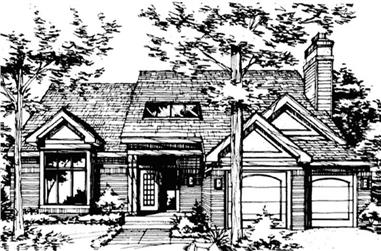 3-Bedroom, 2325 Sq Ft Country Home Plan - 146-2519 - Main Exterior