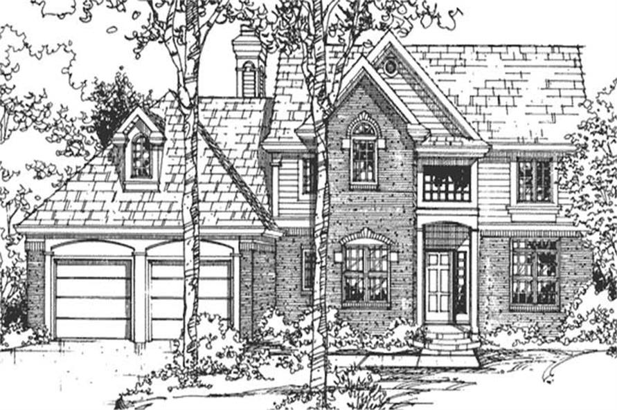 Main image for house plan # 21302