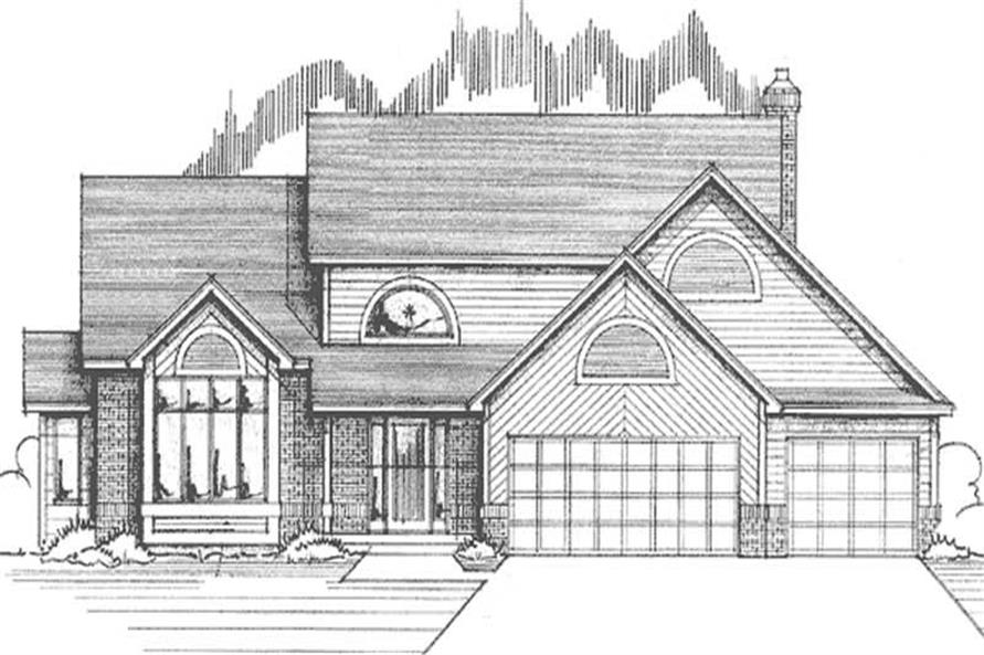 Main image for house plan # 21175
