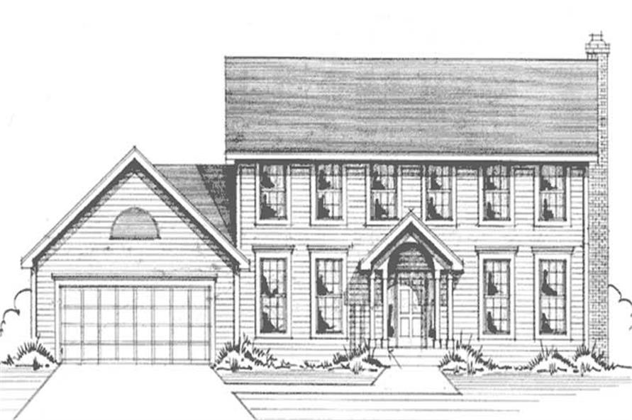 Main image for house plan # 21160