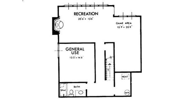 House Floor Plan Basement