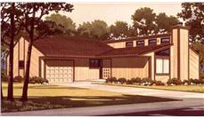 Color Rendering to this house plan